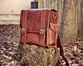 Brown Leather Nomad Backpack -
