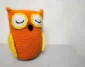 Free Shipping Sale  Owl Amigurumi Crochet Toy (9 inch)