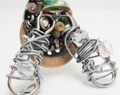 Fly Ring - Handmade OOAK Steampunk Jewlery