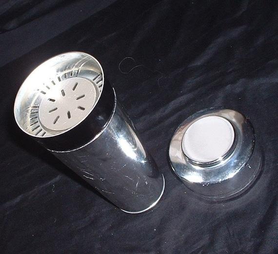 1960's chrome cocktail shaker