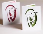 Dragon Note Cards Set of Two