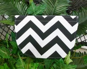Chevron pattern, girl, baby bib, gift, black & white
