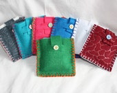 Tea Tote- Carry your tea and fixin's in your purse without worry. Your choice of color