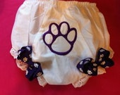 Paw Print Diaper Cover