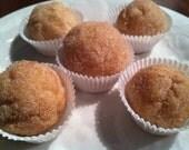 Orange, Cinnamon, Sugar and Spice soap doughnut holes (soap balls)