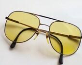 Pucci Designer Yellow Lens Sunglasses