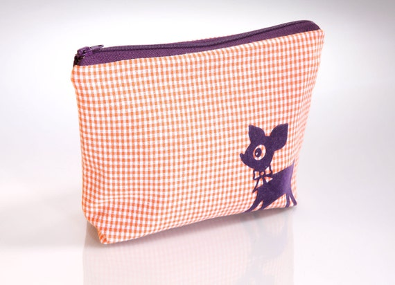 Small Cosmetic (Make-up) Pouch: Bambi's Desire