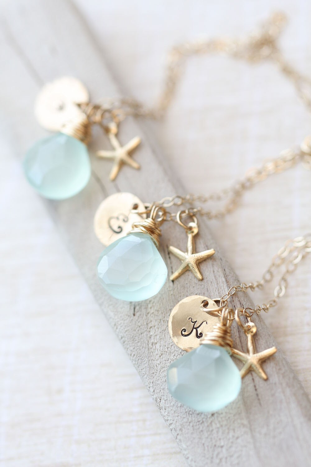 Bridesmaid Necklace Set Bridesmaid GIFT SET of THREE
