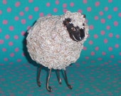 Sheep art sculpture