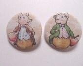Sales -- Pigling Bland & Alexander Fabric Button Set