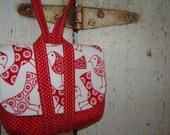 Purty (Red) Birdies Wristlet