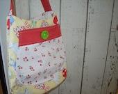 Half offSALE - Grandma's Aprons Bucket Bag
