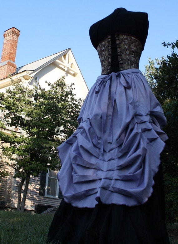 Victorian Steampunk Bustle Skirt MULTISIZE