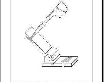 Werewolf/Satyr Stilt DIY Instructions Instant Download PDF
