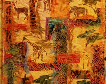Out of Africa...3...This is a nice long piece, would look good in a stairwell...