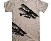 Vintage Fighter Planes T Shirt - American Apparel Tshirt - XS S M L Xl 2Xl (15 Color Options)