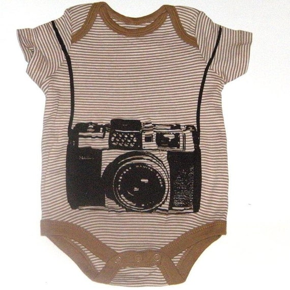 Baby Photographer Funny Camera Onesie Bodysuit For Newborn