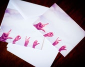 12 Love note cards