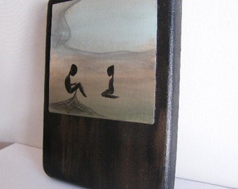 Pearl Divers 2 OOAK Mini Original Painting