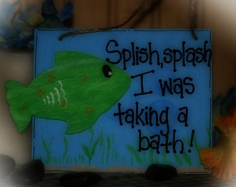 Bathroom Ocean Fish Starfish Bath Tropical Decor