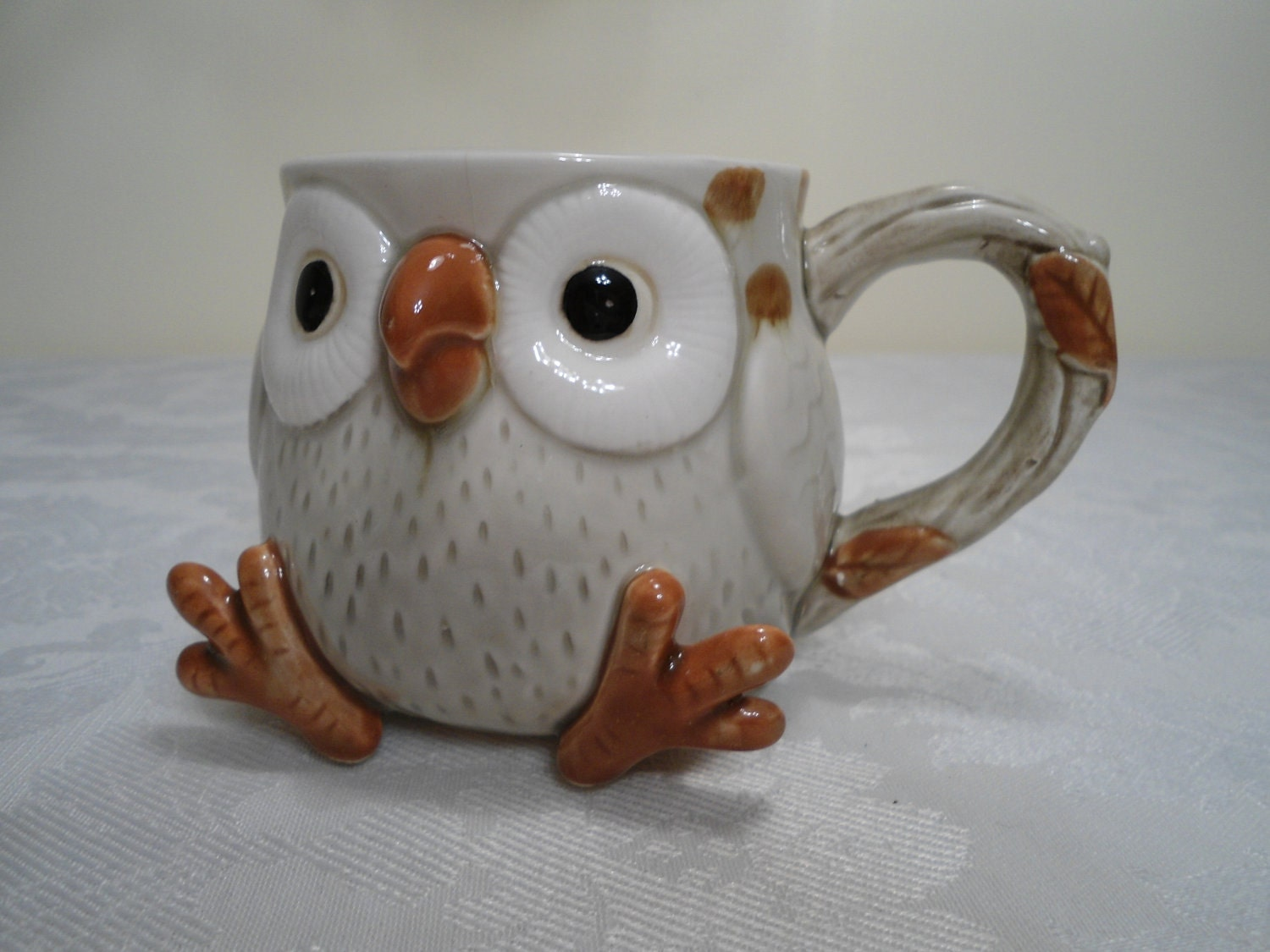 Fitz And Floyd Owl Coffee Cup