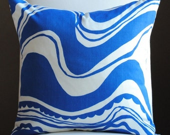 Ready to Ship- Carmel Coastline-Surf-Trina Turk-OUTDOOR PILLOW-Designer Pillow-Toss PIllow