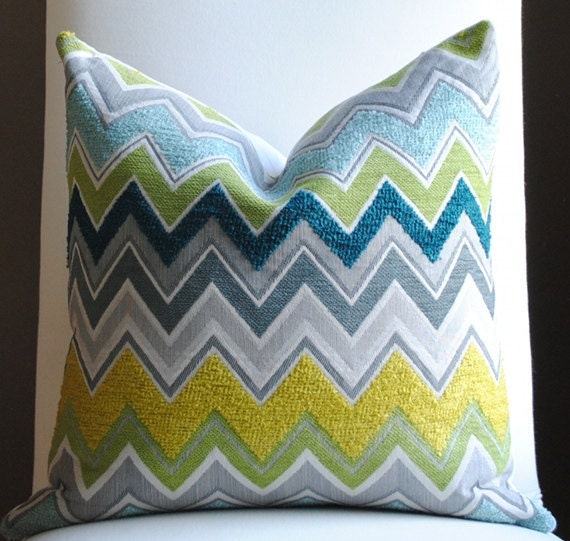 Beautiful FLAME STITCH Home Decor Pillow By NelsonDesign On Etsy