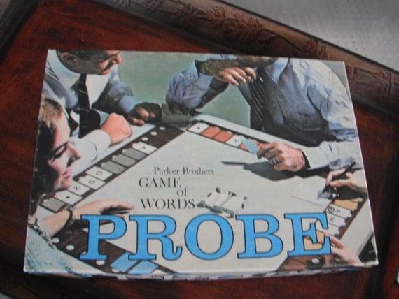 Vintage PROBE game by Parker Bros.