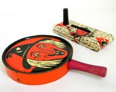 SALE ITEM - Halloween noise makers - vintage instant collection 1960s