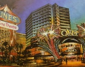 Dunes Las Vegas - vintage Hotel Room key and Poscard