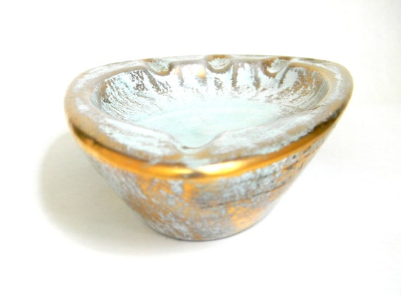 Art Deco Stangl Pottery ashtray - Trenton, NJ - DISCOUNTED