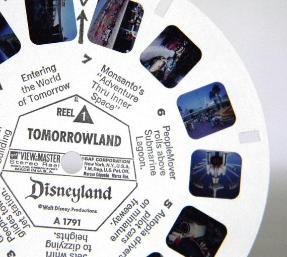 vintage Disneyland GAF view-master Pack - Tomorrowland
