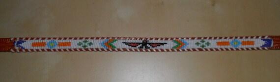 Vintage Beaded THUNDERBIRD Belt