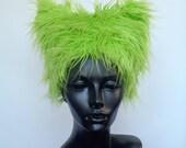 Faux Fur Kitty Hats