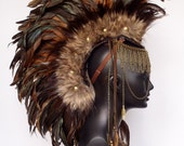 CUSTOM ORDER Midsize Feather Mohawk