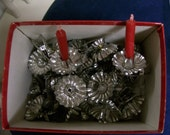 Vintage Christmas Christmas Tree Candle Holders  To Hold a Candle on Tree