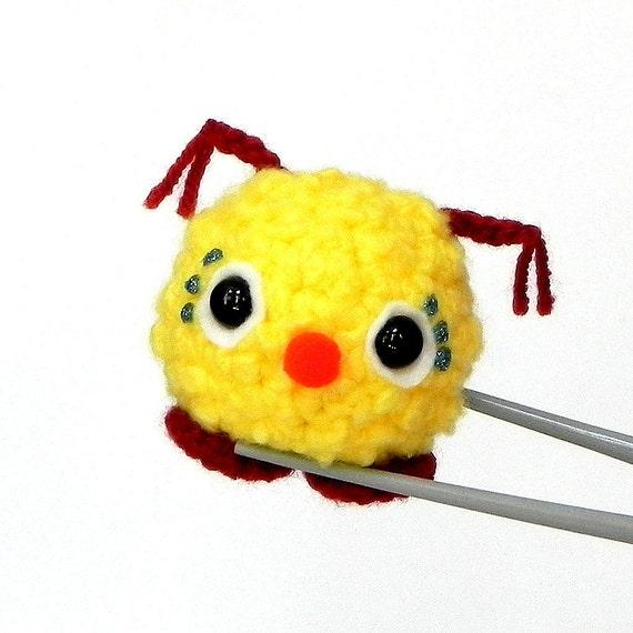 Amigurumi Doll Nose : Amigurumi crochet mochi size mini doll toy Red nose kawaii