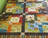 Colorful Twin Size Boys Quilt