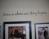 Family Wall Decal Saying Home Decor Vinyl Lettering Decals