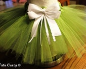 Sweet Pea Two-Toned Lime & Olive Green Tutu, NB-12Mos