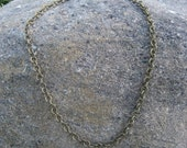 "24"" Chain Base Necklace"