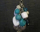Interchangeable Necklace Charm, Cluster