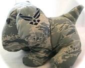 Custom Military Stuffed Animal Puppy ANY Military Branch, Deployment Animals