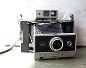 Vintage Camera - Polaroid 250 Land Camera with Case and Accessories