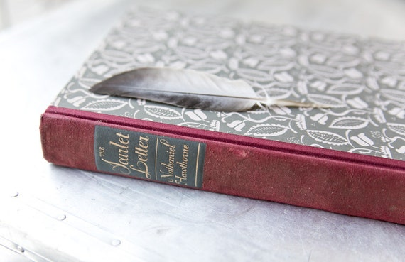 The Scarlet Letter - 1946 - Vintage Book