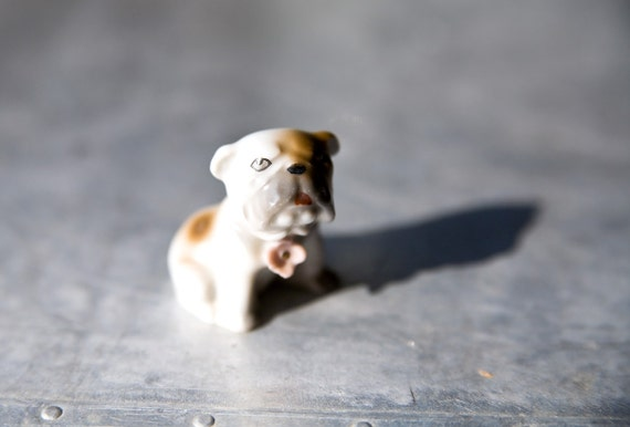 Vintage Dog Figurine - Bulldog