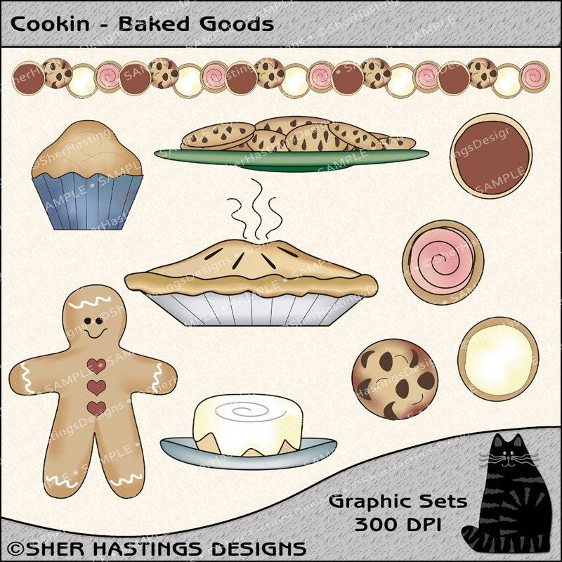 clip art images baked goods - photo #19