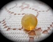 Yellow/orange Oregon gem cut opal/207