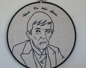 Embroidered Barnabas Collins (Jonathan Frid)