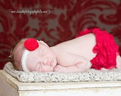 Red Scarlett diaper cover/bloomers